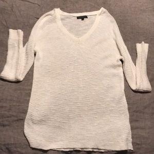 White banana republic sweater!